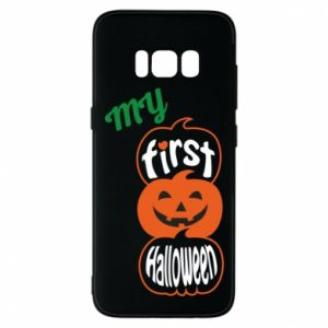 Phone case for Samsung S8 My first halloween - PrintSalon