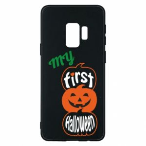 Phone case for Samsung S9 My first halloween - PrintSalon