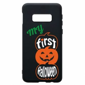 Phone case for Samsung S10e My first halloween - PrintSalon