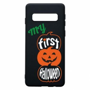 Phone case for Samsung S10 My first halloween - PrintSalon