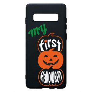 Phone case for Samsung S10+ My first halloween - PrintSalon