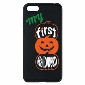 Phone case for Huawei Y5 2018 My first halloween - PrintSalon