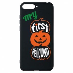 Phone case for Huawei Y6 2018 My first halloween - PrintSalon