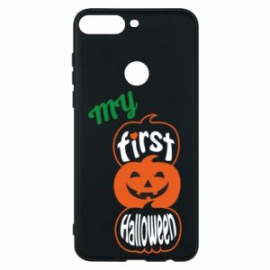 Phone case for Huawei Y7 Prime 2018 My first halloween - PrintSalon