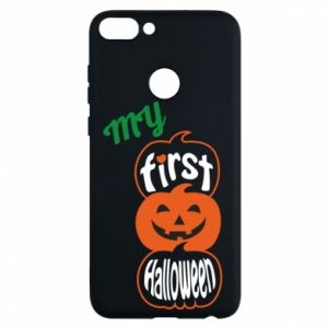 Phone case for Huawei P Smart My first halloween - PrintSalon
