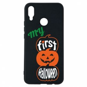 Phone case for Huawei P Smart Plus My first halloween - PrintSalon