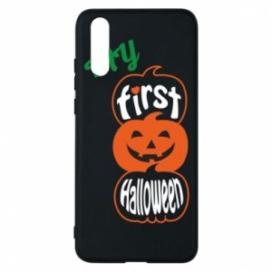 Phone case for Huawei P20 My first halloween - PrintSalon