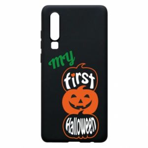 Phone case for Huawei P30 My first halloween - PrintSalon