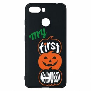 Phone case for Xiaomi Redmi 6 My first halloween