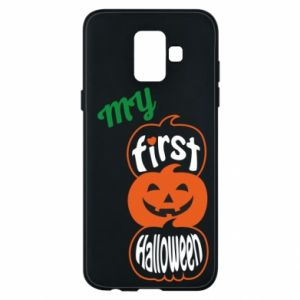 Phone case for Samsung A6 2018 My first halloween - PrintSalon