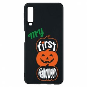 Phone case for Samsung A7 2018 My first halloween - PrintSalon