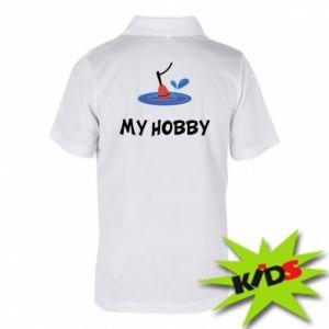 Koszulka polo dziecięca My hobby