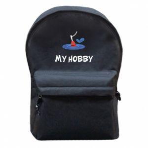 Plecak z przednią kieszenią My hobby