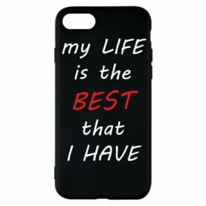 Etui na iPhone SE 2020 My life is the best that I have