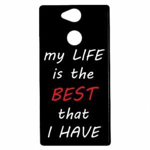 Etui na Sony Xperia XA2 My life is the best that I have