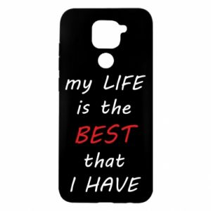 Etui na Xiaomi Redmi Note 9/Redmi 10X My life is the best that I have