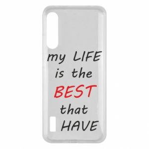 Etui na Xiaomi Mi A3 My life is the best that I have
