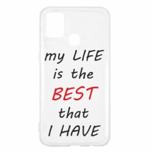 Etui na Samsung M31 My life is the best that I have