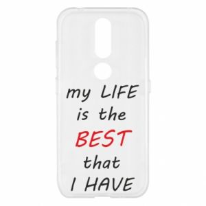 Etui na Nokia 4.2 My life is the best that I have