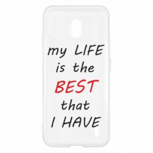 Etui na Nokia 2.2 My life is the best that I have