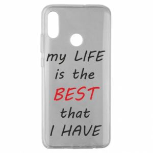 Etui na Huawei Honor 10 Lite My life is the best that I have
