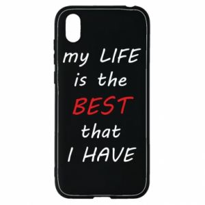 Etui na Huawei Y5 2019 My life is the best that I have
