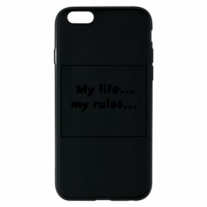 Etui na iPhone 6/6S My life... my rules...
