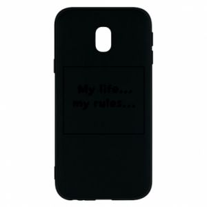 Samsung J3 2017 Case My life... my rules...