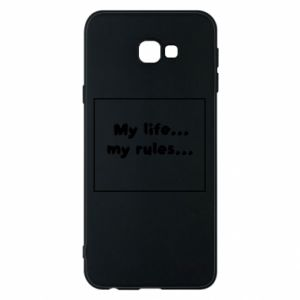 Samsung J4 Plus 2018 Case My life... my rules...