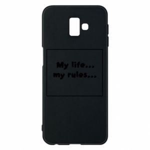 Samsung J6 Plus 2018 Case My life... my rules...