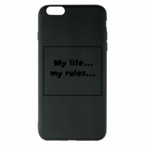 Etui na iPhone 6 Plus/6S Plus My life... my rules...
