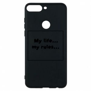 Huawei Y7 Prime 2018 Case My life... my rules...