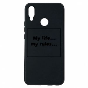 Etui na Huawei P Smart Plus My life... my rules...
