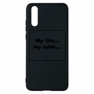 Huawei P20 Case My life... my rules...
