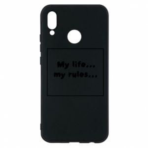 Huawei P20 Lite Case My life... my rules...