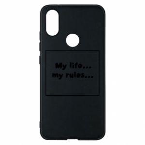 Xiaomi Mi A2 Case My life... my rules...