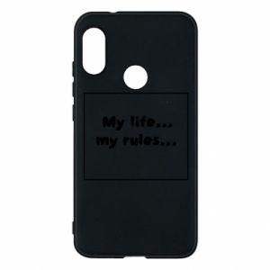 Mi A2 Lite Case My life... my rules...