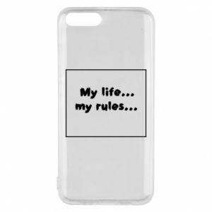 Xiaomi Mi6 Case My life... my rules...