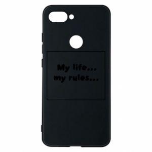 Xiaomi Mi8 Lite Case My life... my rules...