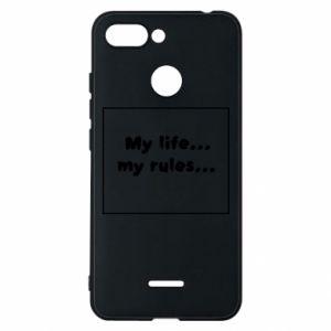 Xiaomi Redmi 6 Case My life... my rules...