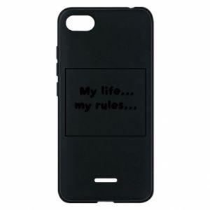 Xiaomi Redmi 6A Case My life... my rules...