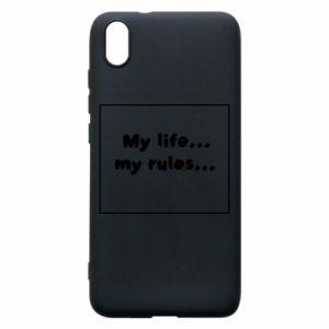 Xiaomi Redmi 7A Case My life... my rules...