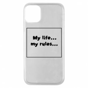 Etui na iPhone 11 Pro My life... my rules...