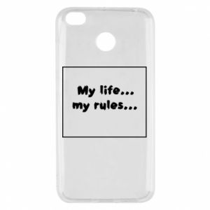 Xiaomi Redmi 4X Case My life... my rules...