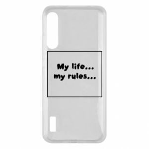 Xiaomi Mi A3 Case My life... my rules...