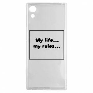 Sony Xperia XA1 Case My life... my rules...