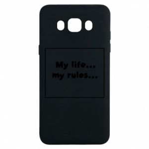 Samsung J7 2016 Case My life... my rules...