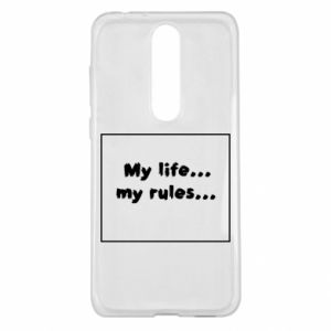 Nokia 5.1 Plus Case My life... my rules...