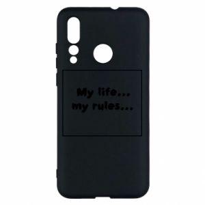 Huawei Nova 4 Case My life... my rules...