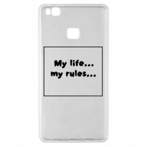 Huawei P9 Lite Case My life... my rules...
